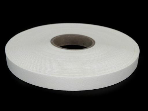 5m Bügelband Breite 15 mm weiß