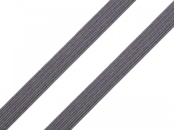 Gummiband Wäschegummi Breite 7 mm grau