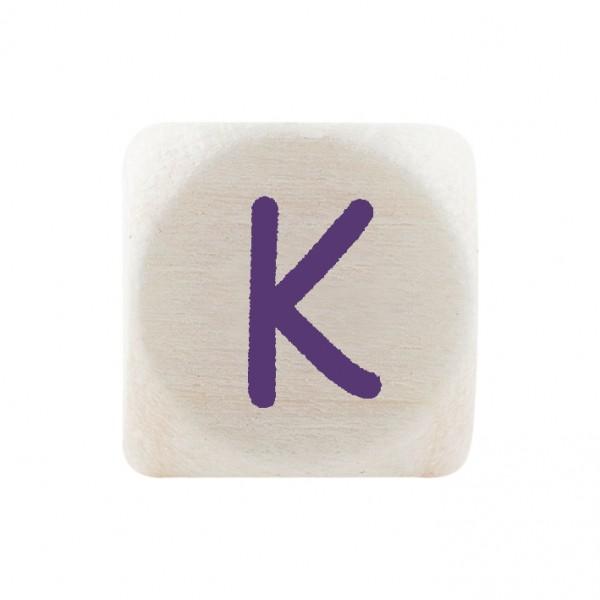 Angebot Premiumbuchstabe 10 mm lila K