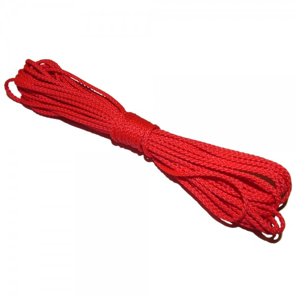 5 m PP-Schnurstück rot