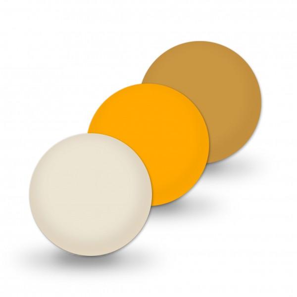 Ausverkauf Uniperlen 12 mm beige-mix