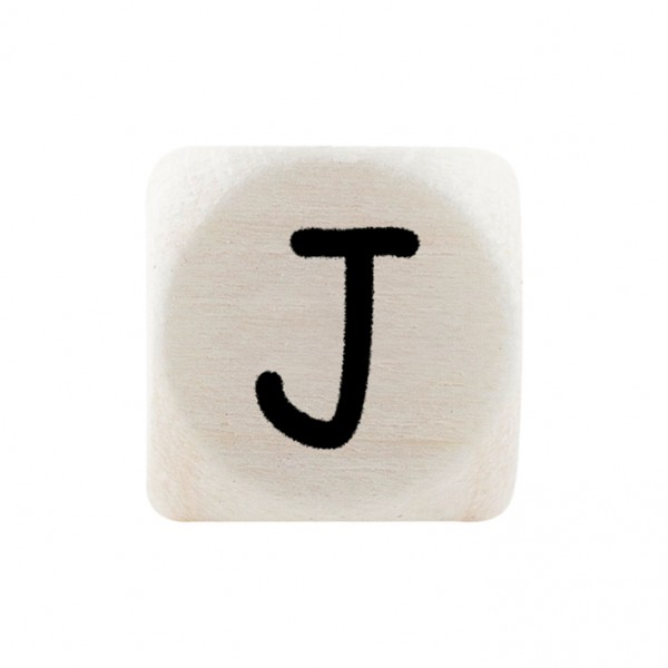 Premiumbuchstabe 10 mm schwarz J