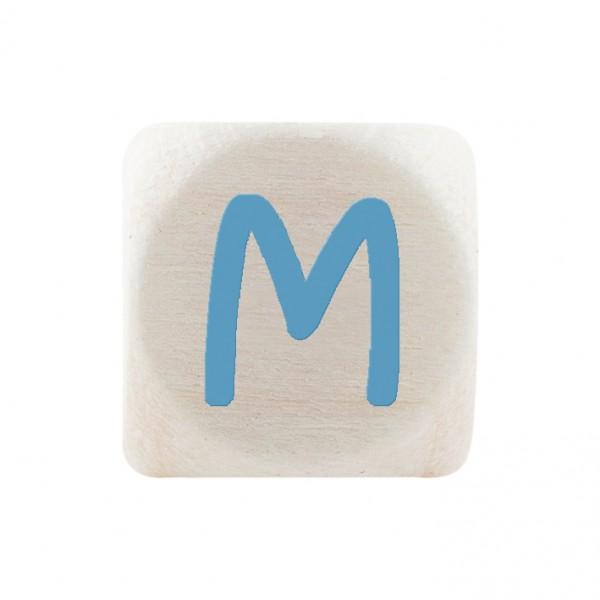 Premiumbuchstabe 10 mm babyblau M