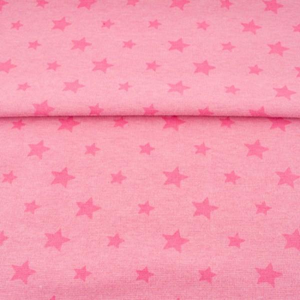 Sale Bündchen Sterne meliert babyrosa/rosa