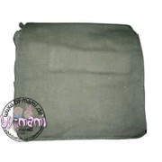Schultertaschenrohling aus Canvas olive