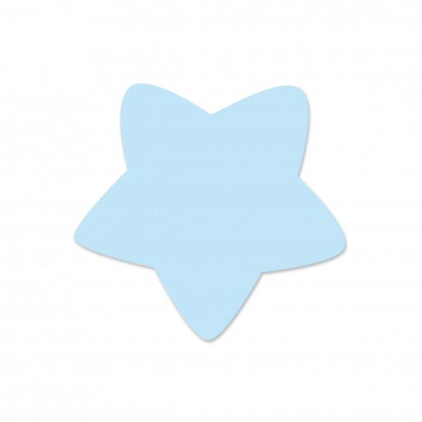 Motivperle Sternchen horizontal babyblau