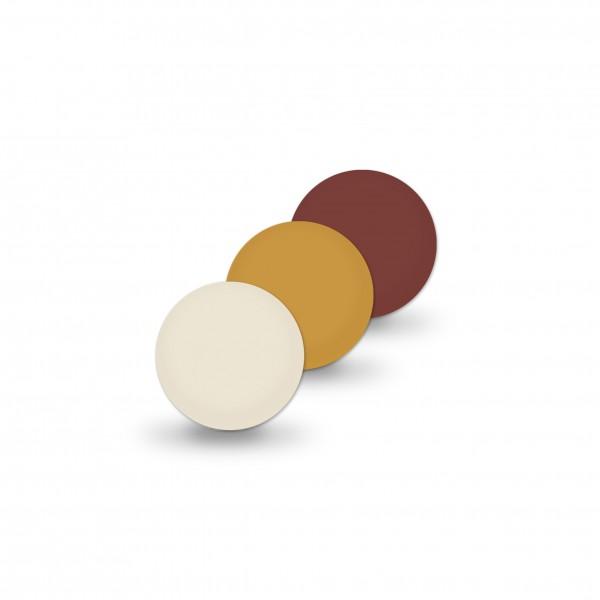 Ausverkauf Uniperlen 8 mm braun-mix