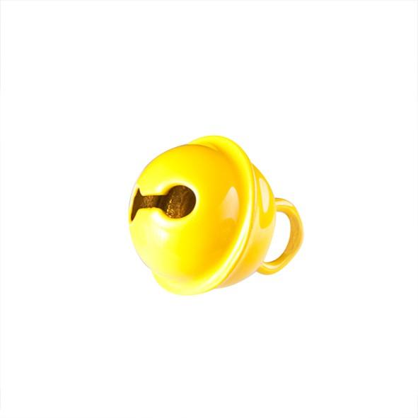 Glöckchen 11 mm gelb