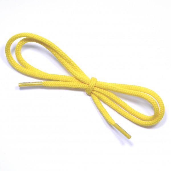 0,5 m Schnurstück mit Fädelhilfe gelb