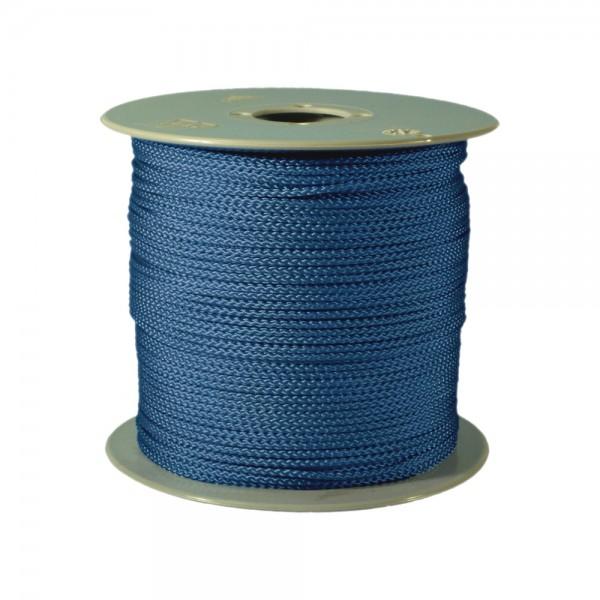100 m Schnurrolle, 1,5 mm Durchmesser, mittelblau