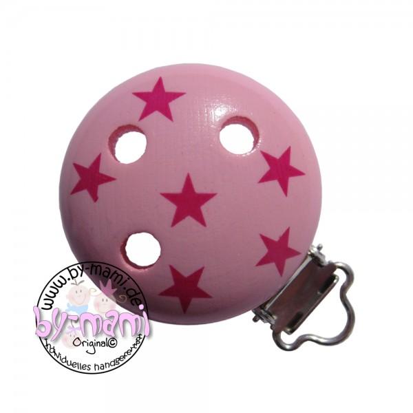 Motivclip I Sternchen babyrosa/pink