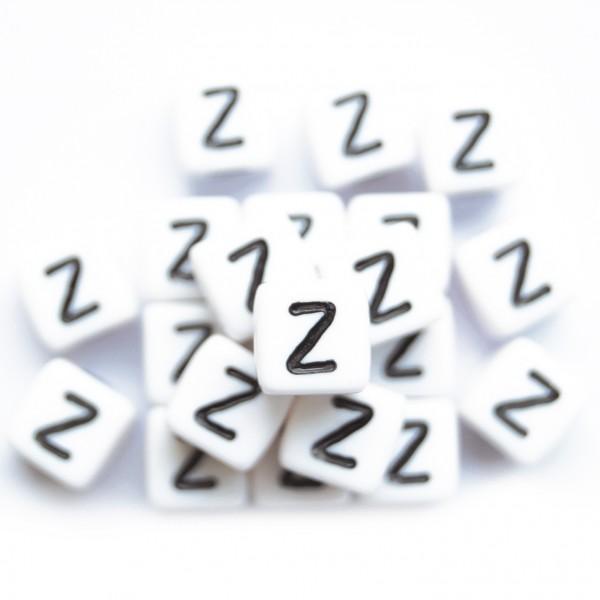 ca. 550 Kunststoffbuchstabenwürfel 10 mm Z