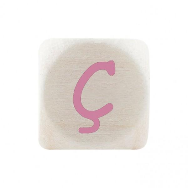 Premiumbuchstabe 10 mm rosa Ç