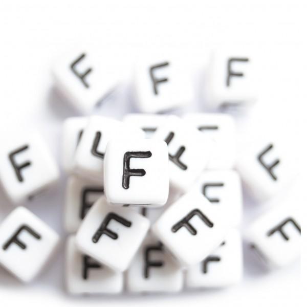 ca. 50 Kunststoffbuchstabenwürfel 10 mm F