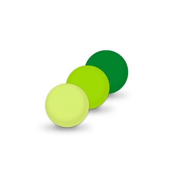 Uniperlen 8 mm grün-mix