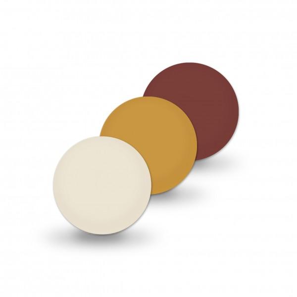 Ausverkauf Uniperlen 10 mm braun-mix