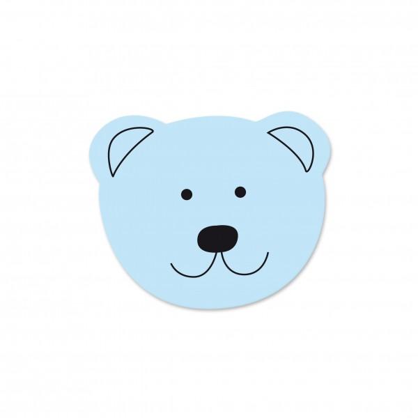 Angebot Motivperle Mini-Bär vertikal babyblau