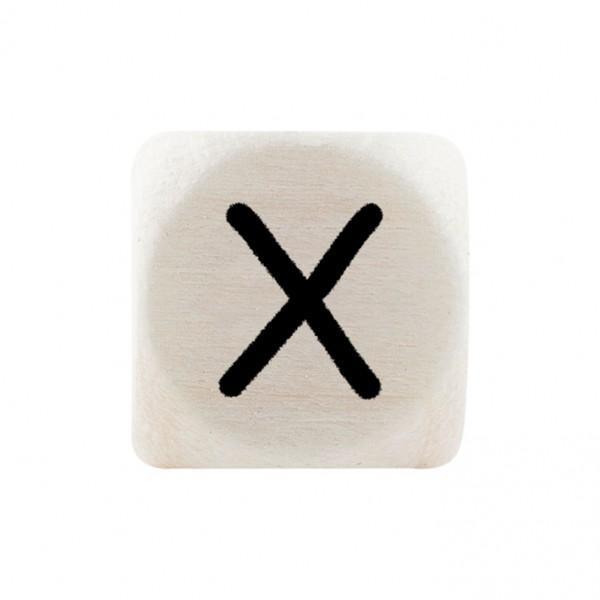 Premiumbuchstabe 10 mm schwarz X
