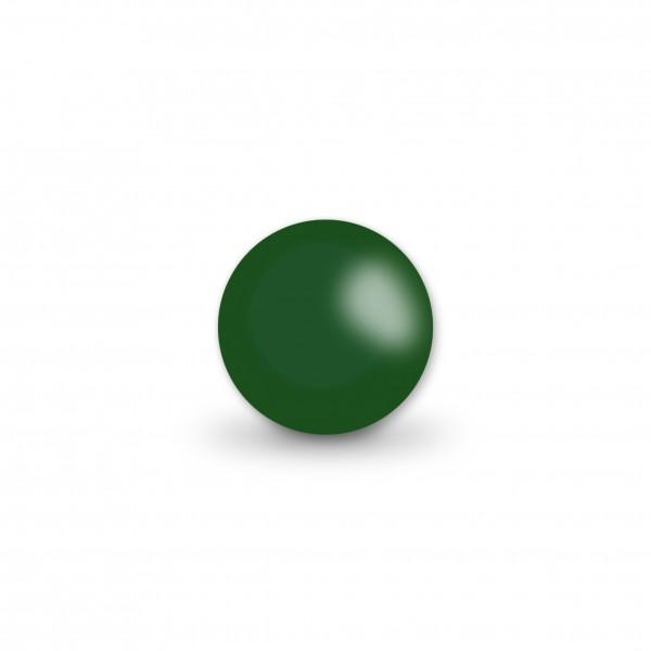 Ausverkauf Uniperlen 10 mm dunkelgrün