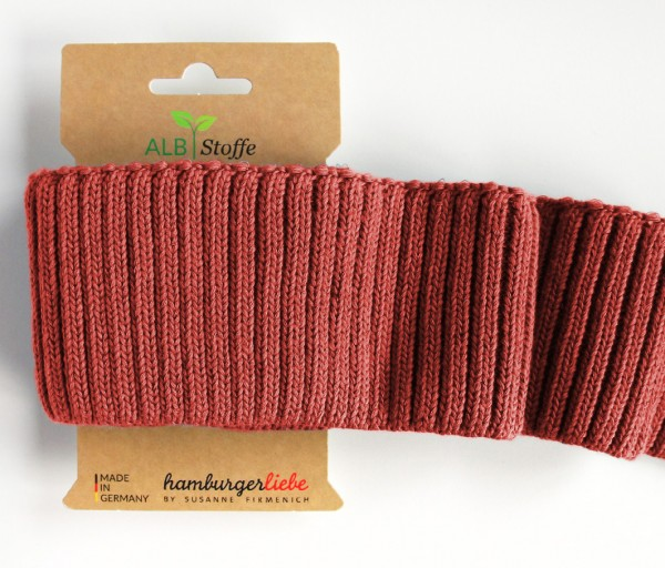 DEAL Cuff Me Cozy Grobstrick terracotta