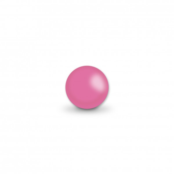 Uniperlen 8 mm pink
