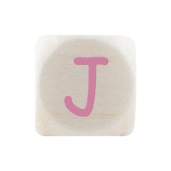 Premiumbuchstabe 10 mm rosa J