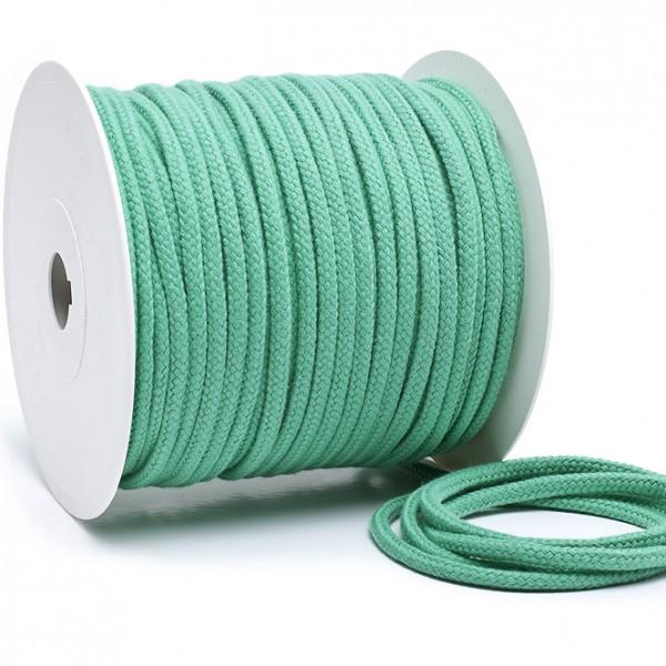 Kordel 100% Baumwolle 6 mm mintgrün