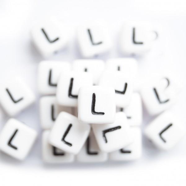 ca. 550 Kunststoffbuchstabenwürfel 10 mm L