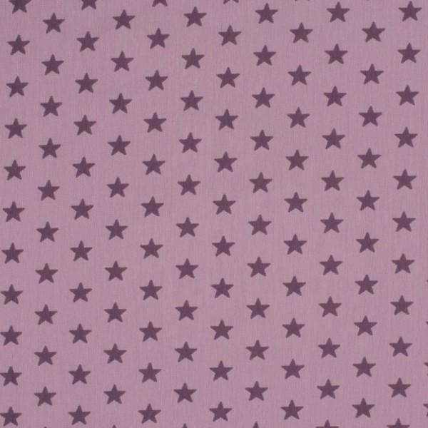 DEAL Jersey Sterne flieder/lila