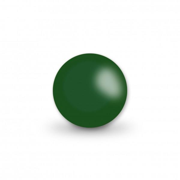 Ausverkauf Uniperlen 12 mm dunkelgrün