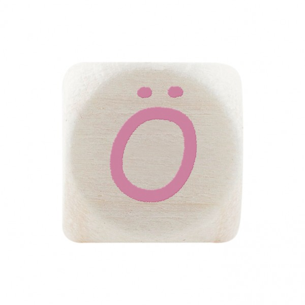 Premiumbuchstabe 10 mm rosa Ö