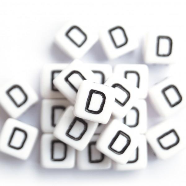 ca. 550 Kunststoffbuchstabenwürfel 10 mm D