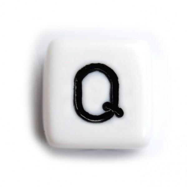 Kunststoffbuchstabenwürfel 10 mm einzeln Q