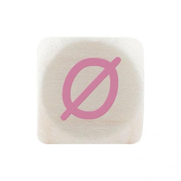 Premiumbuchstabe 10 mm rosa Ø