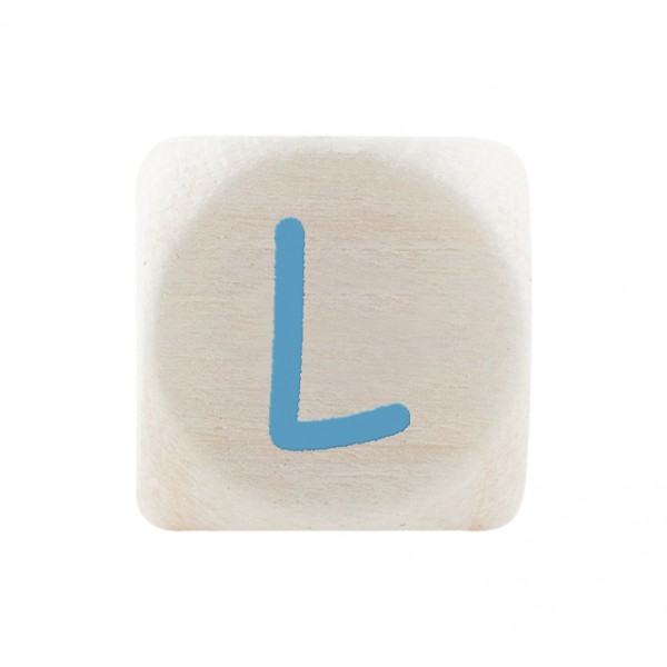 Premiumbuchstabe 10 mm babyblau L