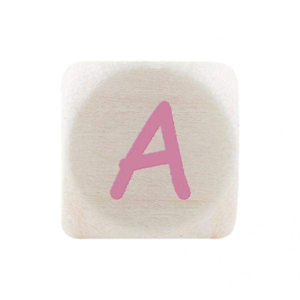 Premiumbuchstabe 10 mm rosa A