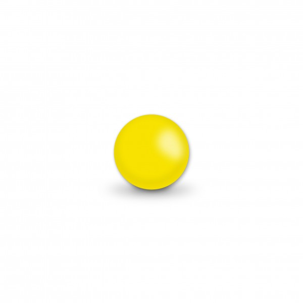Uniperlen 8 mm gelb