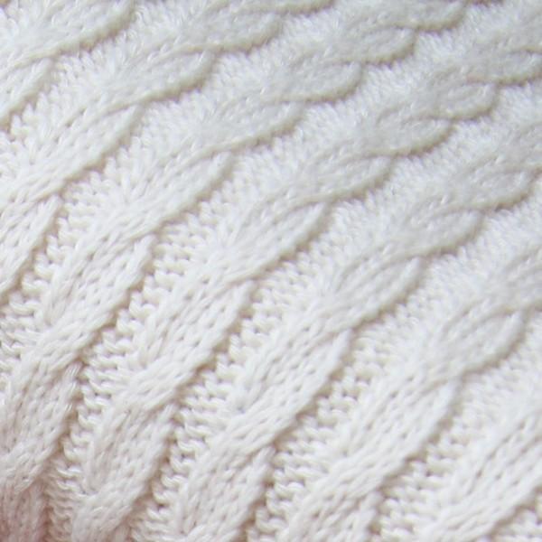 Pattern Love - Knitty Plait creme by Albstoffe und Hamburger Liebe
