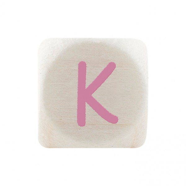 Premiumbuchstabe 10 mm rosa K