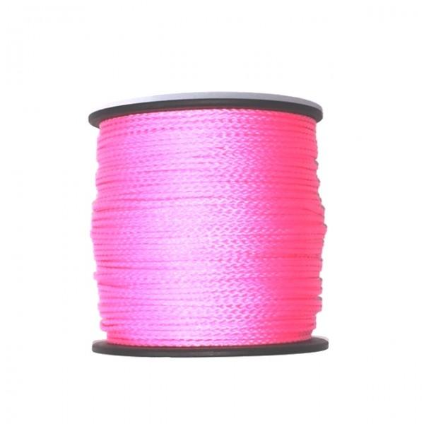 100 m Schnurrolle, 1,5 mm Durchmesser, pink