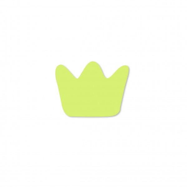 Ausverkauf Motivperle Mini-Krone horizontal lemon