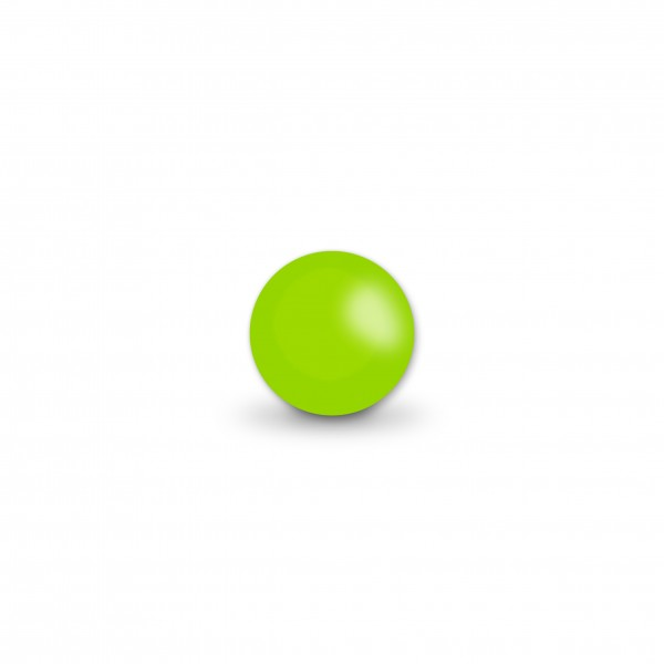 Uniperlen 8 mm apfelgrün