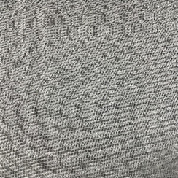Reststück 1,80m Musselin Baumwolle - Double Gauze grau