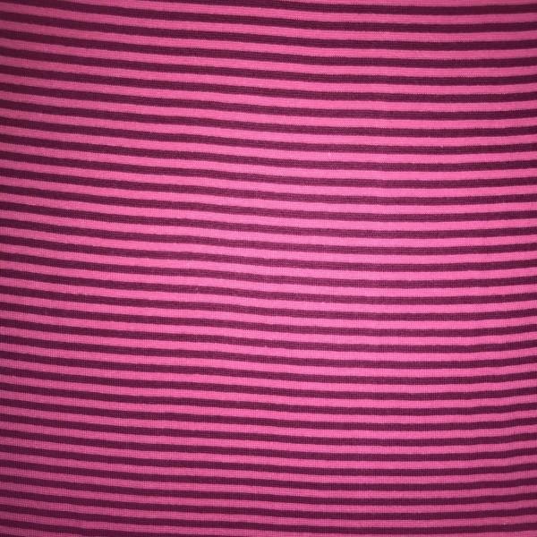 Sale Albstoffe Bio-Ringelbündchen uni pink/violett