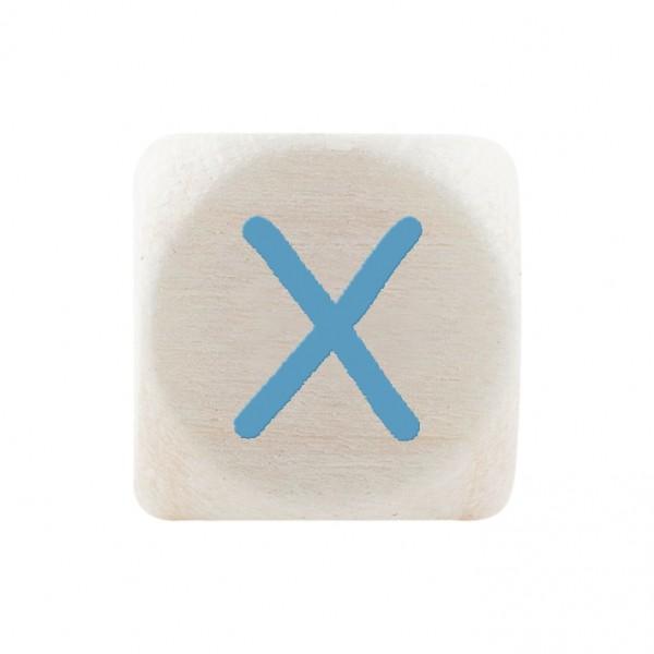 Premiumbuchstabe 10 mm babyblau X