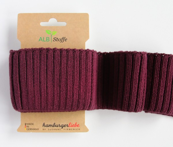 DEAL Cuff Me Cozy Grobstrick bordeaux