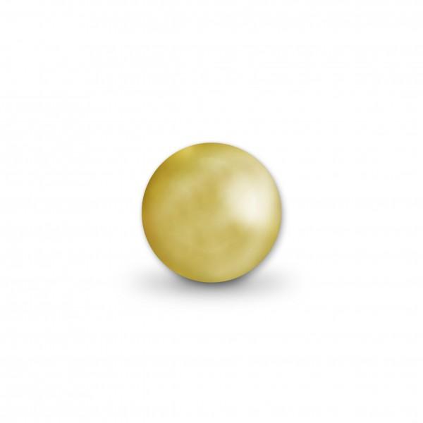 Uniperlen 10 mm gold