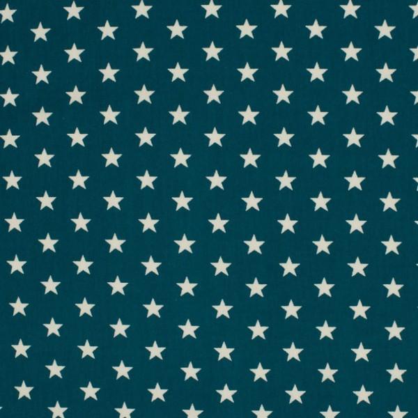 DEAL Jersey Sterne petrol/weiß