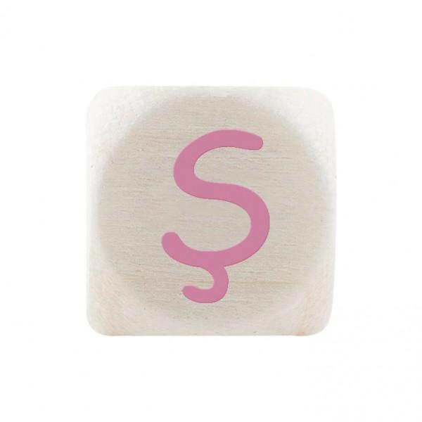 Premiumbuchstabe 10 mm rosa Ş