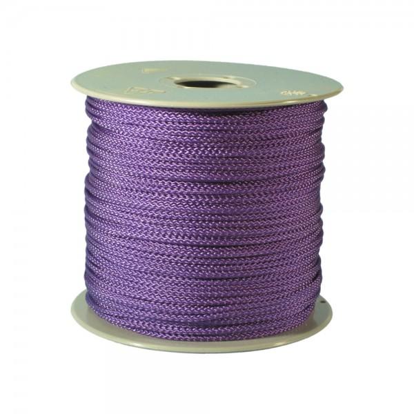 100 m Schnurrolle, 1,5 mm Durchmesser, lila